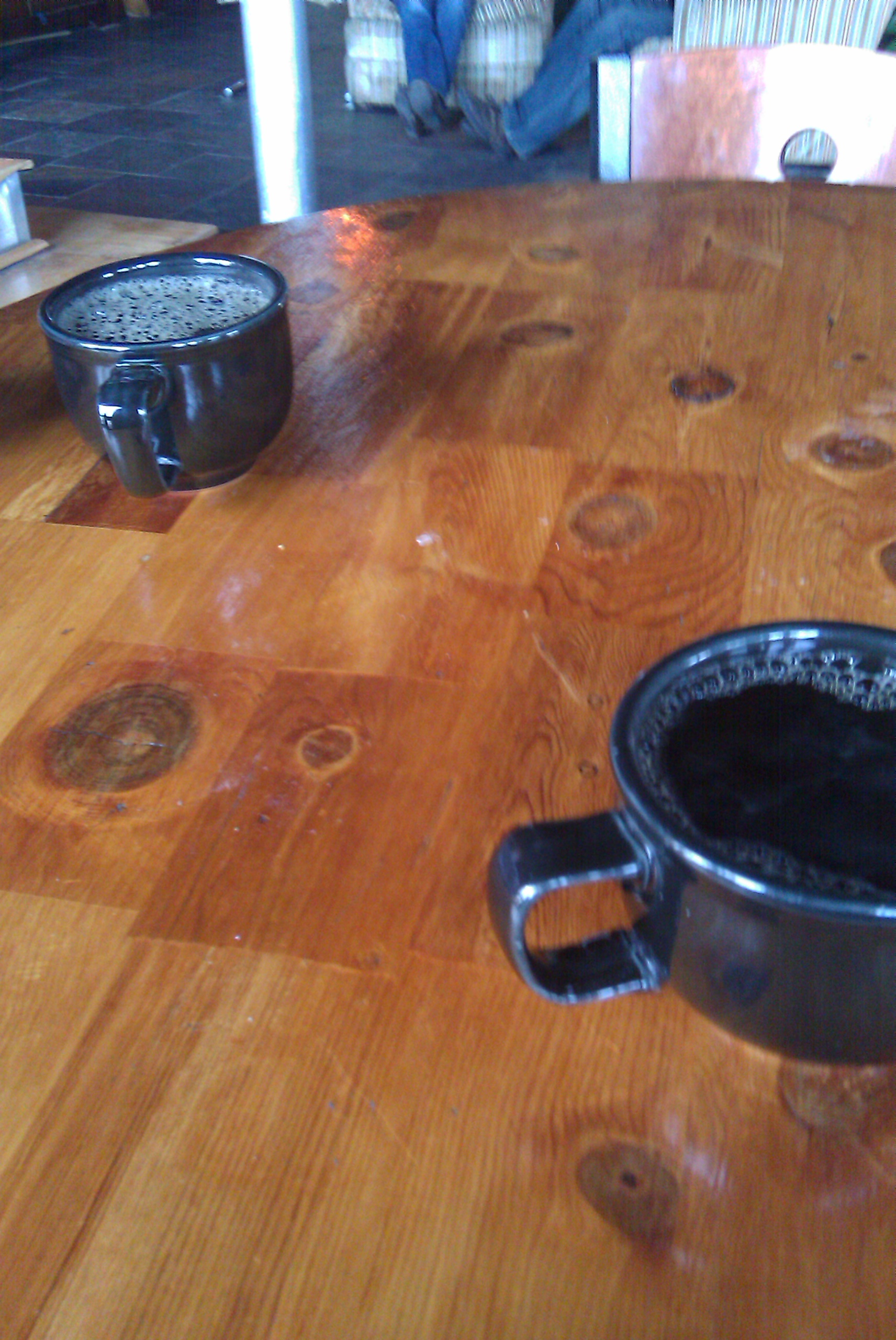 All the coffee