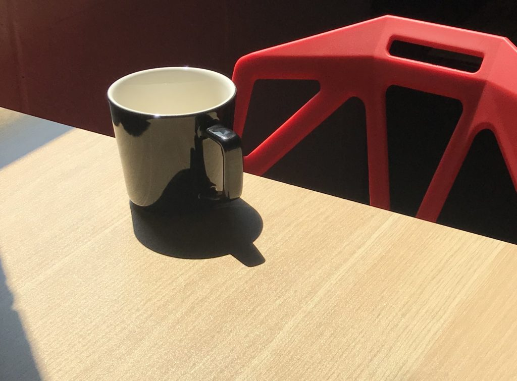 Coffee Cup In Sunlight